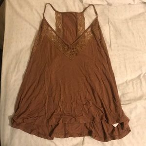 Rust colored tank top